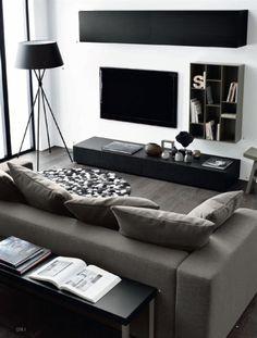 Design Living Room, Small Room Design, Living Room Interior, Living Room Furniture, White Furniture, Design Room, Furniture Layout, Furniture Design, Dining Rooms
