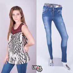 💃 Casual outfit! 💃 👯 Blusa ·BRUNNA· 👯 👸 Jean ·MICHELLE· 👸 🎀 Veni a buscar tu OUTFIT ideal! 🎀 💄Realizamos ventas mayoristas y ENVIOS a todo el pais!💄 <3 Todos los medios de pago, con todas las tarjetas de credito y debito! ·AHORA12 AHORA18 <3 🌹Arias 3499 · Castelar · Buenos Aires 🌹 🐵 www.luma07.com.ar 🐵
