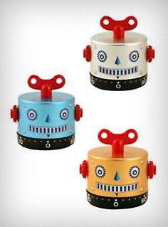 Robot Kitchen Timer.