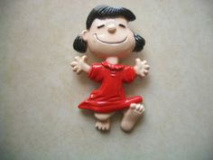 Vintage Peanuts Lucy Pin for Aviva