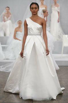 Monique Lhuillier Bridal Spring 2015.
