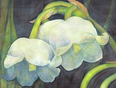 Kim Romine Gray - Art: Kiah and Lily Of The Valley