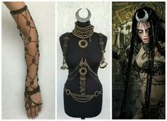 Enchantress and June Moone: costume, clothes and accessories inspired by Suicide Squad's characters played by the model Cara Delevigne. Halloween Makeup Witch, Amazing Halloween Costumes, Halloween 2020, Halloween Outfits, Fall Halloween, Halloween Party, Costume Makeup, Cosplay Costumes, Cosplay Ideas