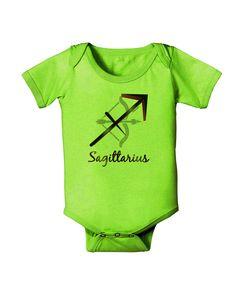 TooLoud Sagittarius Symbol Baby Romper Bodysuit