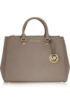 MICHAEL Michael Kors | Sutton large textured-leather tote | NET-A-PORTER.COM