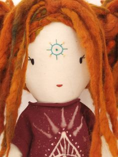 Close-up of Henna Doll by Lily Blaise