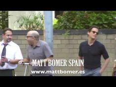 Matt Bomer filming in New York, White Collar episode 5x08 (day 2) - YouTube