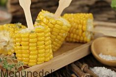Как приготовить кукурузу / Меню недели