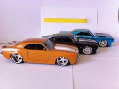 Jada Toys Cars | Jada Toys 1/24 Lote De Muscle Cars