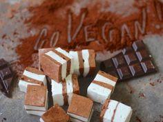 Chocolate and Vanilla TopDeck Vegan Marshmallows