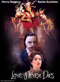 Love Never Dies sequel to phantom! Wonderful saw in London on te west end !
