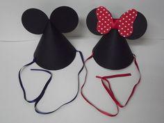 Chapéu da Minnie e Mickey