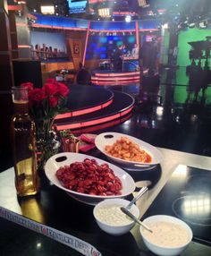 View from the Chef's table on Good Day New York! #DerbyDishes