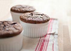 Soufflés von Kaffee und Schokolade aus dem Dampfgarer