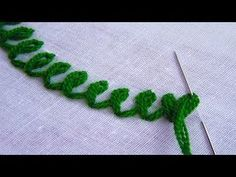 hand embroidery stitches tutorial step by step Basic Hand Embroidery Stitches, Hand Embroidery Patterns Flowers, Hand Embroidery Videos, Hand Embroidery Tutorial, Embroidery Flowers Pattern, Hand Embroidery Designs, Embroidery Techniques, Ribbon Embroidery, Embroidery Kits