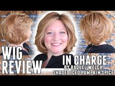 WIG REVIEW In Charge by Raquel Welch in the color Shaded Iced Pumpkin Spice - YouTube Raquel Welch, Color Shades, Hair Pieces, Pumpkin Spice, Wigs, Hair Makeup, Spices, Youtube, Style