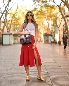 62d60a8afa 49 Faldas Largas de Moda para que luzcas con Estilo (2019)