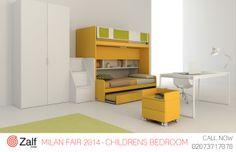 Kids Furniture Design. Come by our Fulham showroom to discuss the endless design possibilities of Zalf furniture. #MilanShow #MilanFair2014  #MilanDesignWeek #KidsBedroom #ModernKidsFurniture #LuxuryKidsFurniture #ChildrensBedRoomIdeas #
