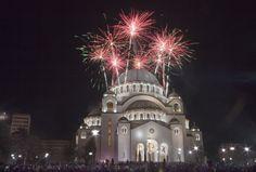 vartomet, hram svetog save, srpska nova godina, foto čitalac kurira slavko savić