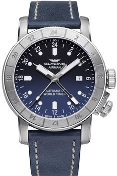 Glycine Watch Airman 44 Pre-Order #add-content #basel-17 #bezel-bidirectional #bracelet-strap-leather #brand-glycine #case-material-steel #case-width-44mm #date-yes #delivery-timescale-call-us #dial-colour-blue #gender-mens #gmt-yes #luxury #movement-automatic #new-product-yes #official-stockist-for-glycine-watches #packaging-glycine-watch-packaging #pre-order #pre-order-date-30-05-2017 #preorder-may #style-dress #subcat-airman #supplier-model-no-gl0054…