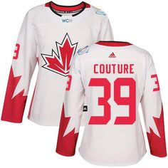 Team Canada  39 Logan Couture White 2016 World Cup Women s Stitched NHL  Jersey Hockey Teams c9e4caa16