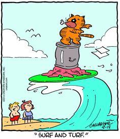 Heathcliff Cartoon for Aug/18/2014