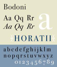 Bodoni font - Google Search