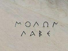Molon labe - Wikipedia, the free encyclopedia