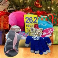 A gift for runners a diy creative box full of running goodies our marathon gift basket will keep a runner training for a marathon focused and motivated our marathon gift basket is filled with great marathon gifts for negle Choice Image