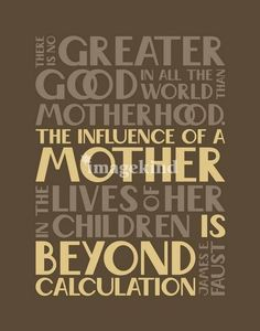 Traits of a Godly mother