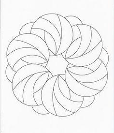 mandalas to zentangle Mandala Art Mandala Pattern, Zentangle Patterns, Embroidery Patterns, Zentangles, Mandala Art, Free Motion Quilting, Hand Quilting, Machine Quilting, Stained Glass Patterns