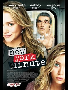New York Minute: The Novelization by Mary-kate & Ashley Olsen, Adam Cooper (Screenplay by), Emily Fox (Screenplay by) Girly Movies, Teen Movies, Iconic Movies, Good Movies, Movie Tv, Olsen Twins Movies, Family Movies, Latest Movies, Mary Kate Ashley