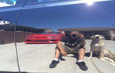 Man's best car waxing friend #reflectie - direct upload by Bryan Ditzler