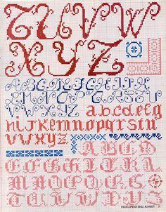 (1) Gallery.ru / Foto # 1 - Le Idee di Susanna - Enciclopedia degli alfabeti - natalytretyak
