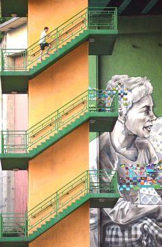 Ruta de murales por Bilbao