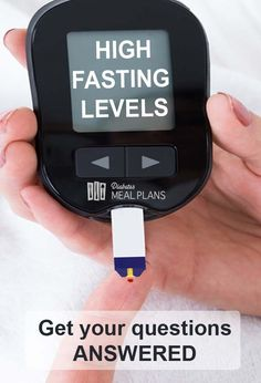 High Fasting Blood Sugar Levels - Get your questions answered