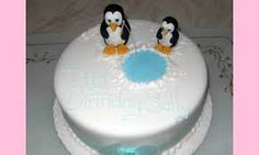Image result for penguins madagascar cake