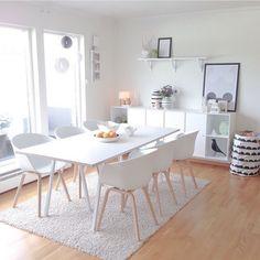 Scandinavian dinning room #scandinaviandesign #dinningroom #scandinavia