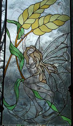 Harvest Blessings - Stained Glass - Flying Monkey Studio