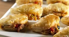 Gather the ingredients for the tasty empanadas and either bake right away or freeze to bake later. You will love having these appetizers on hand for any occasion. Comments