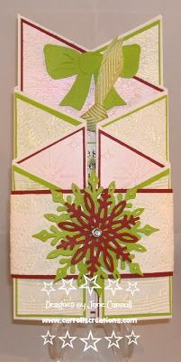 Jane Carroll for Crafter's Companion: Christmas Embossalicious Folder, Die'sire dies and Sentimentals