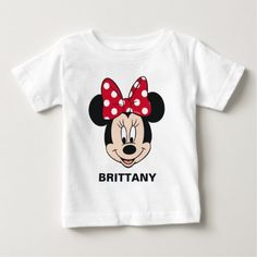 Wrap your little one in custom baby clothes. Cozy comfort at Zazzle! Personalized baby clothes for your bundle of joy. Choose from huge ranges of designs today! Mickey Mouse Cartoon, Mickey Mouse T Shirt, Minnie Mouse, Disney T Shirt, Disney Mickey, Walt Disney, Personalized Baby Clothes, Personalized Gifts, Mickey And Friends