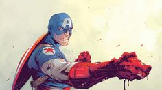 Wallpaper: http://desktoppapers.co/av68-toronto-revolver-illustration-art-anime-hero-captain-america/ via http://DesktopPapers.co : av68-toronto-revolver-illustration-art-anime-hero-captain-america