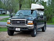 Building Roof Racks For A Truck Cap | Canadian Canoe Routes