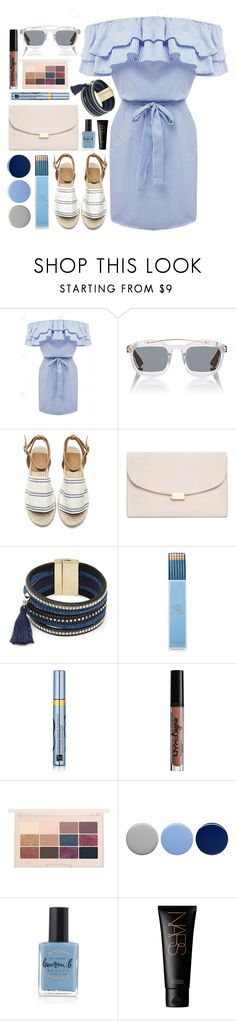 """Untitled #65"" by ramadinanisa ❤ liked on Polyvore featuring Christian Dior, Mansur Gavriel, Design Lab, Draper James, Estée Lauder, NYX, Burberry, Lauren B. Beauty and NARS Cosmetics"