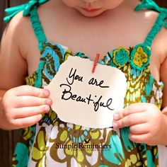 You are beautiful. — Simple Reminders