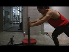 The Prowler: My Favourite Fat Loss Conditioning + Lower Body Power Exercise - YouTube