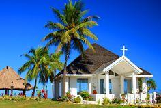 Paradise Chapel at Sheraton #Fiji Resort #FijiWedding