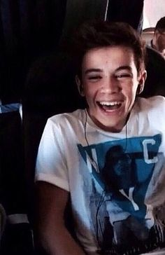 His smile. His laugh. His everything is perfect, might not be your perfect, but he is an exact match in my dictionary.