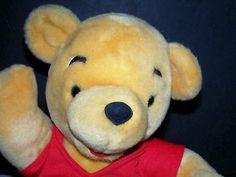 Disneyland Plush Winnie Pooh Teddy Bear JOINTED toy